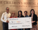 Oklahoma Drug Card presents donation to The Children's Hospital at St. Francis